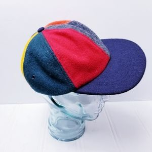 J Crew Men's Cap Color Block Wool, Large